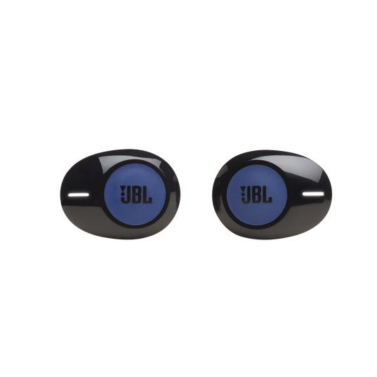 JBL Tune 120TWS - Blue - True wireless in-ear headphones. - Front