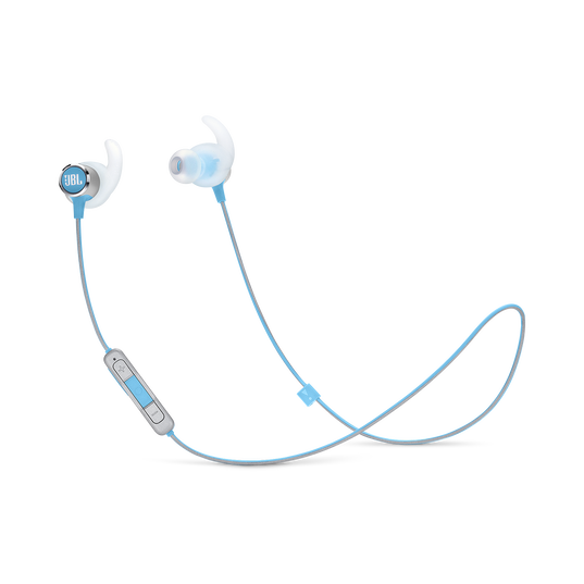 JBL REFLECT MINI 2 - Teal - Lightweight Wireless Sport Headphones - Hero