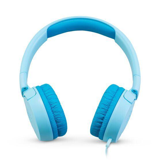 JBL JR300 - Ice Blue - Kids on-ear Headphones - Front