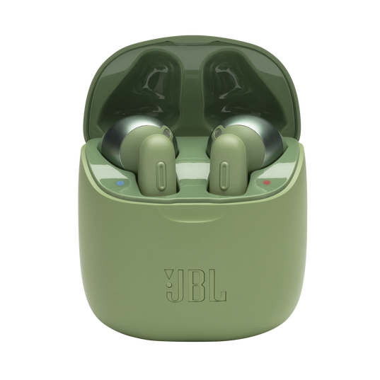 JBL Tune 220TWS - Green - True wireless earbuds - Hero