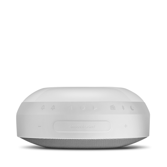 JBL Horizon - White - Bluetooth clock radio with USB charging and ambient light - Detailshot 6