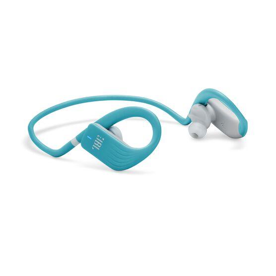 JBL Endurance JUMP - Teal - Waterproof Wireless Sport In-Ear Headphones - Detailshot 1