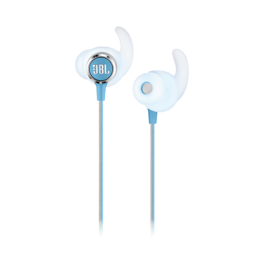 JBL REFLECT MINI 2 - Teal - Lightweight Wireless Sport Headphones - Detailshot 1