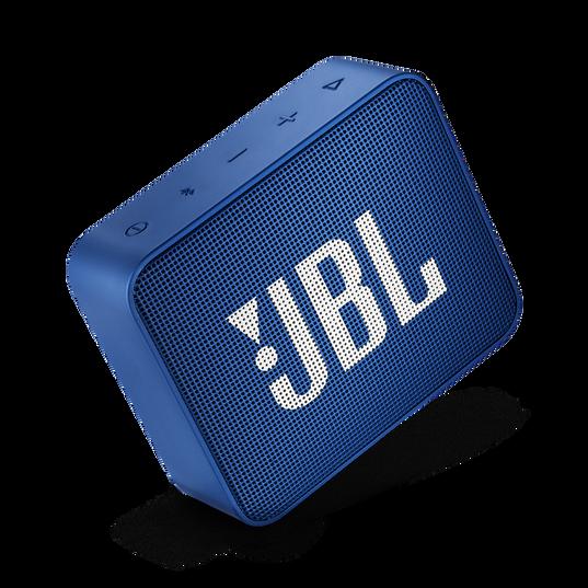 JBL GO 2 - Deep Sea Blue - Portable Bluetooth speaker - Detailshot 1