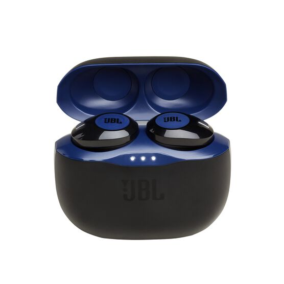 JBL TUNE 120TWS - Blue - Truly wireless in-ear headphones. - Hero
