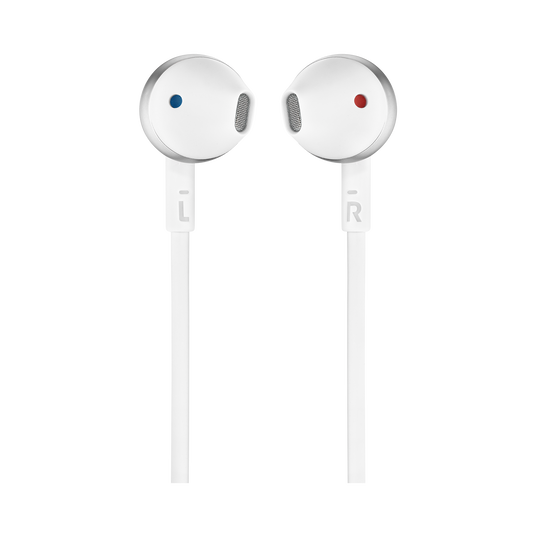 JBL TUNE 205 - Chrome - Earbud headphones - Front