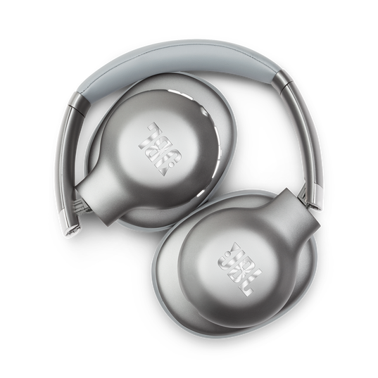 JBL EVEREST™ 710 - Silver - Wireless Over-ear headphones - Detailshot 1