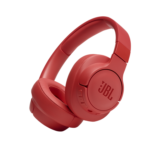 JBL TUNE 700BT - Coral - Wireless Over-Ear Headphones - Hero