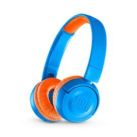 JBL JR300BT - Rocker Blue - Kids Wireless on-ear headphones - Hero