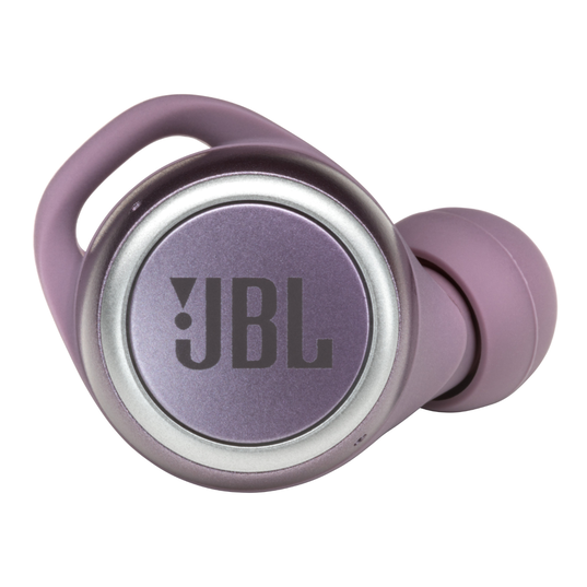 JBL Live 300TWS - Purple - True wireless earbuds - Detailshot 2