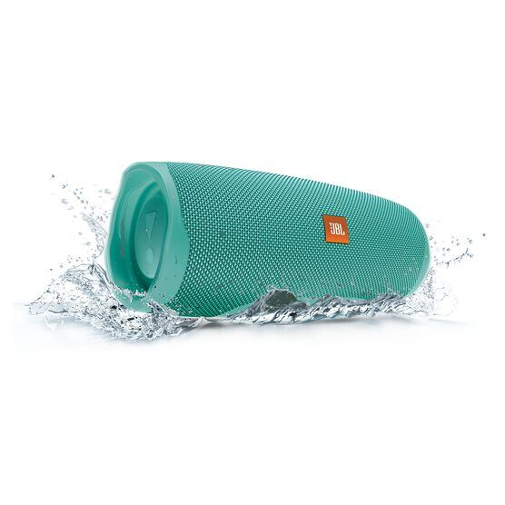 JBL Charge 4 - Teal - Portable Bluetooth speaker - Detailshot 5