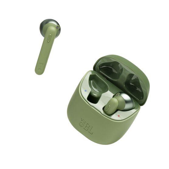 JBL TUNE 220TWS - Green - True wireless earbuds - Detailshot 2