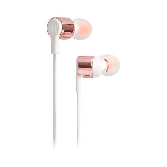 JBL TUNE 210 - Rose Gold - In-ear headphones - Hero