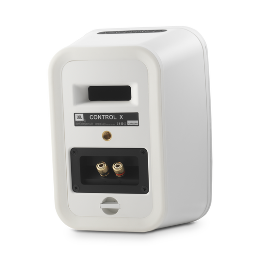 "JBL Control X - White - 5.25"" (133mm) Indoor / Outdoor Speakers - Back"