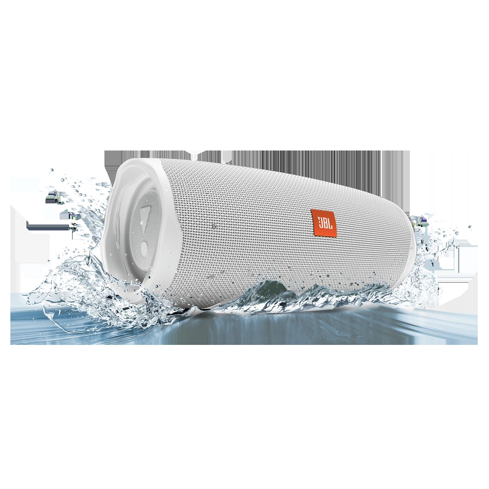 JBL Charge 4 - White - Portable Bluetooth speaker - Detailshot 5