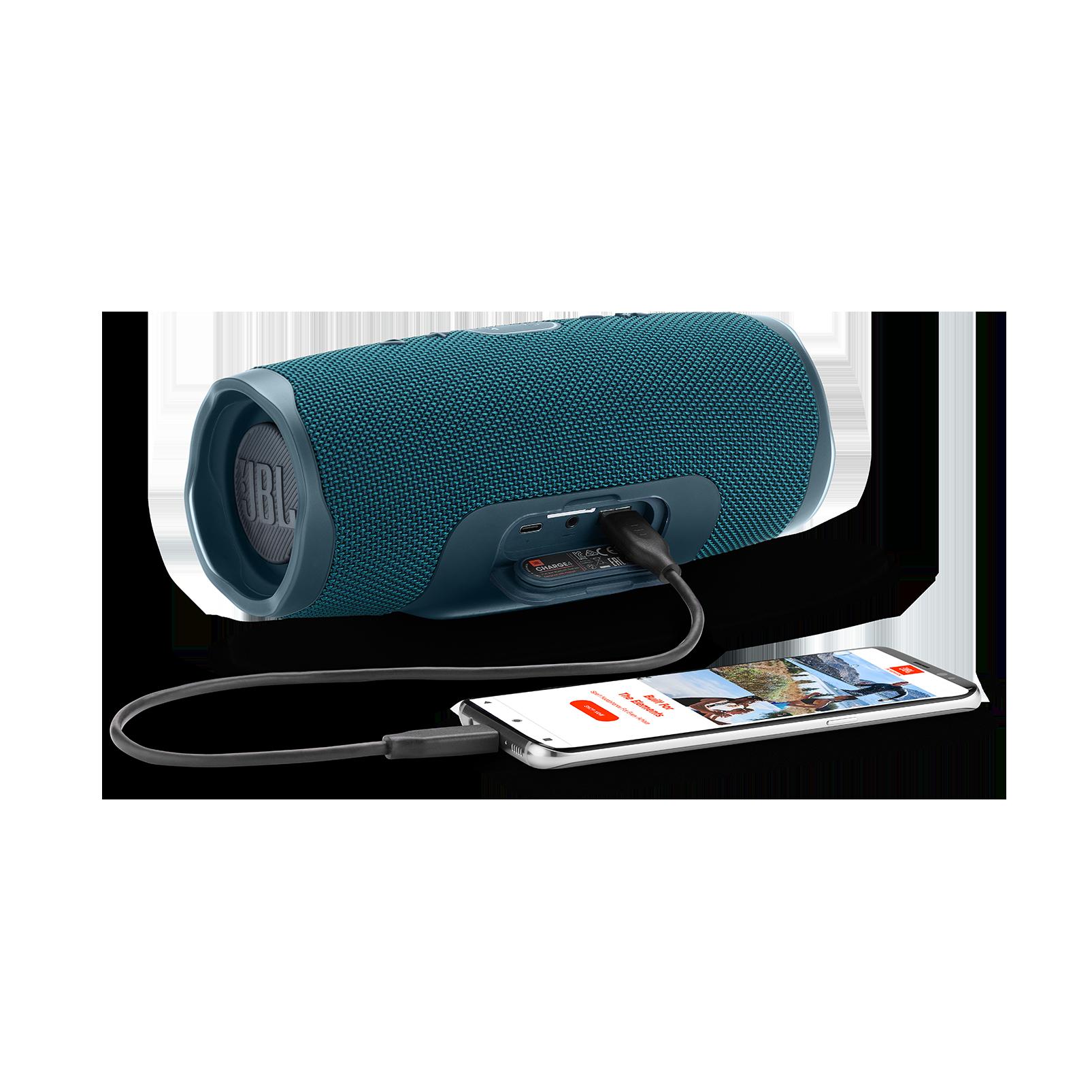 JBL Charge 4 - Blue - Portable Bluetooth speaker - Detailshot 4