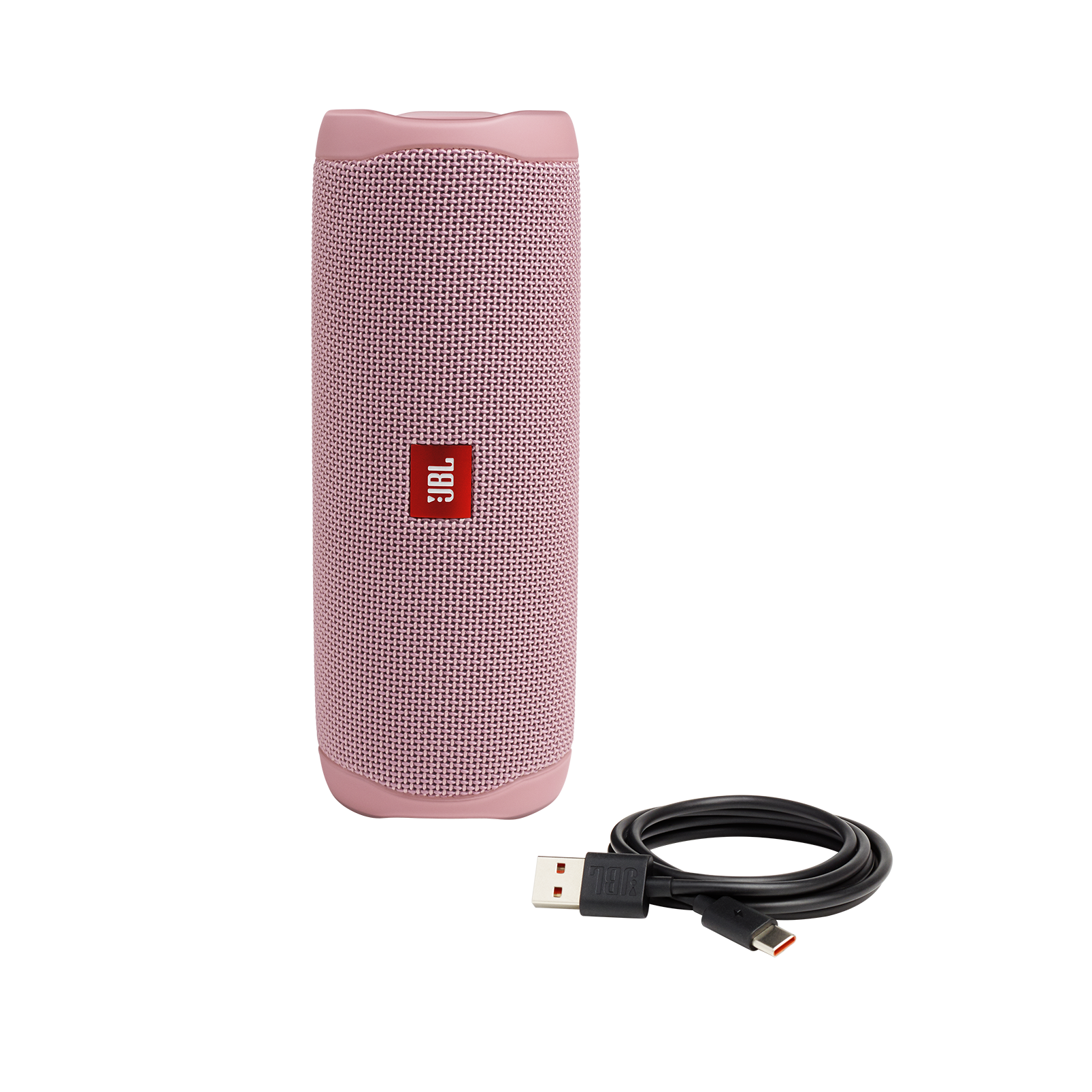 JBL FLIP 5 - Pink - Portable Waterproof Speaker - Detailshot 1