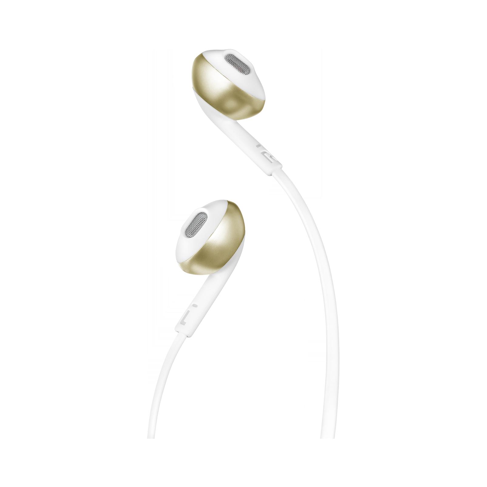 JBL TUNE 205 - Champagne Gold - Earbud headphones - Detailshot 1