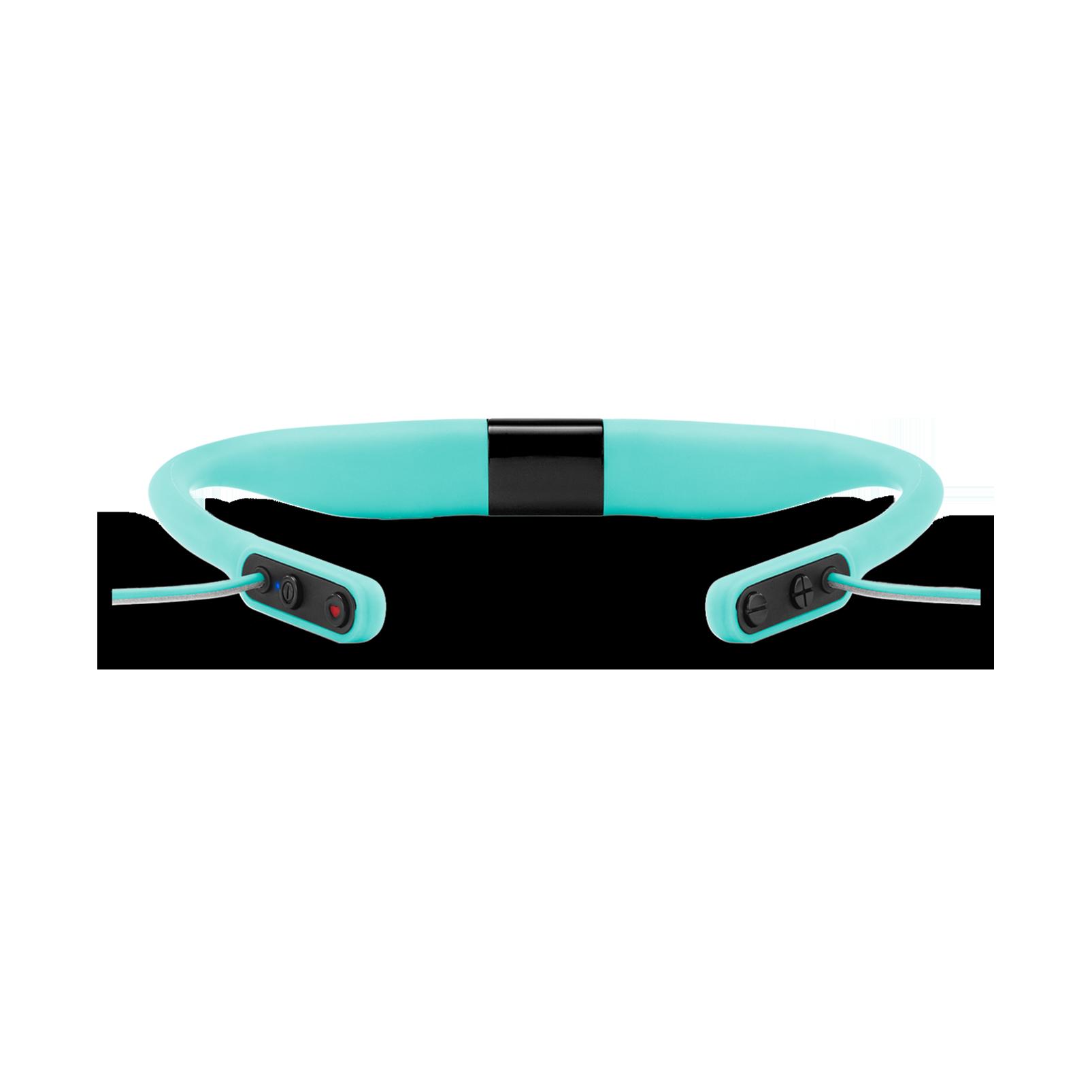 JBL Reflect Fit - Teal - Heart Rate Wireless Headphones - Detailshot 2