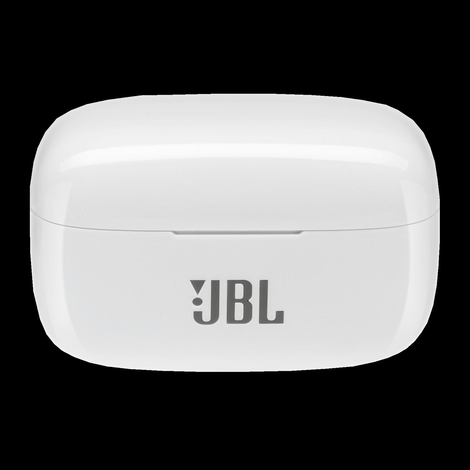 JBL LIVE 300TWS - White Gloss - True wireless in-ear headphones with Smart Ambient - Detailshot 4